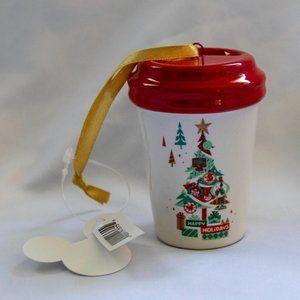 Disney Parks Starbucks Christmas Tumbler Ornament
